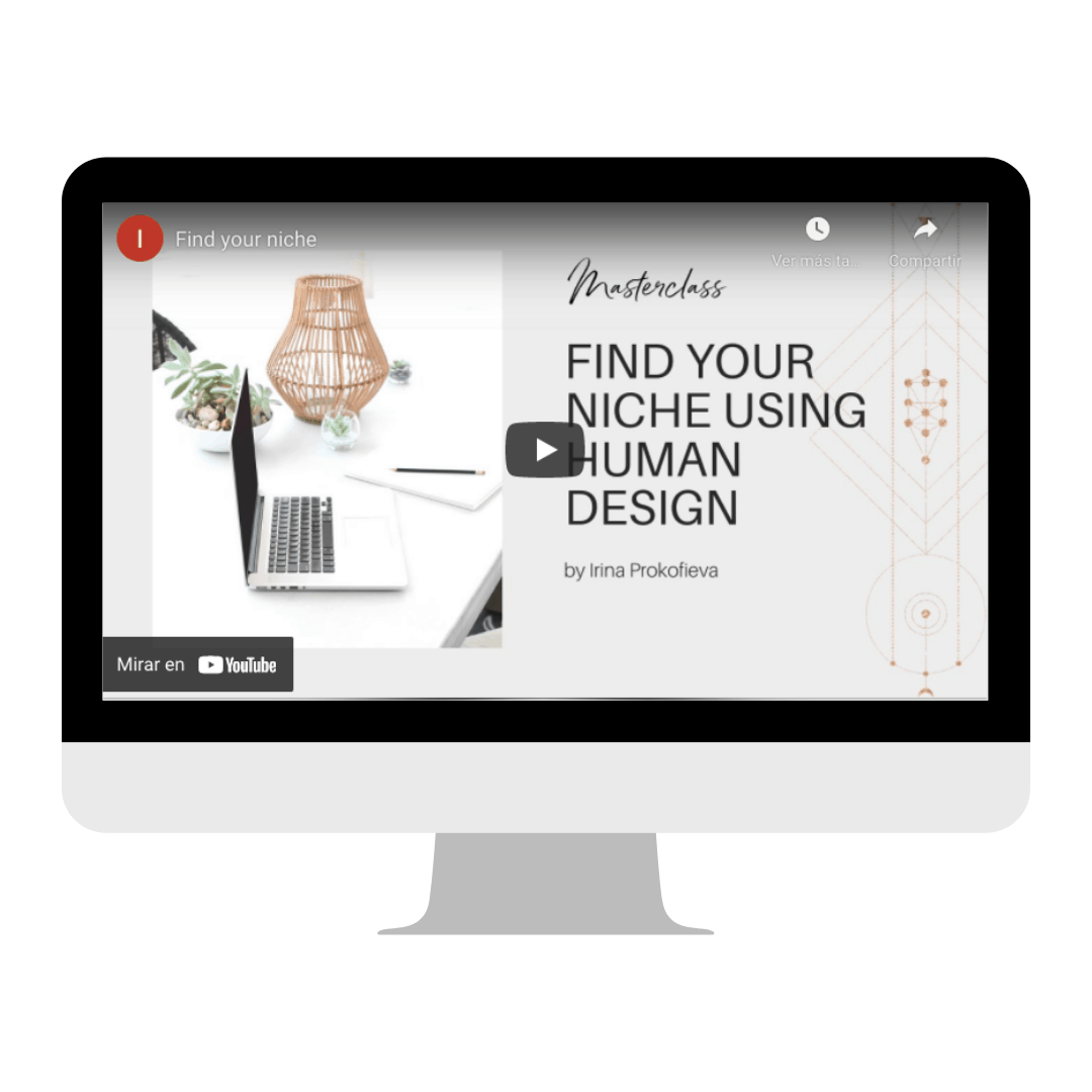Find your niche using Human Design class